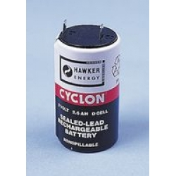 Cyclon 2V 2Ah Lead Acid Battery for Micromon. 3 per Micromon.